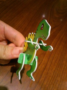 肩こりと腰痛な恐竜